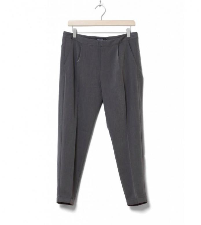 MbyM W Pants Gita grey charcoal melange M