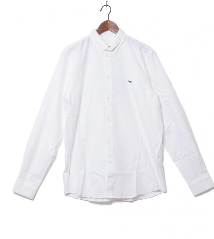 Wood Wood Wood Wood Shirt Timothy II white bright