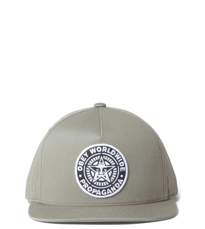 Obey Obey Snap Cap Classic Patch green light army