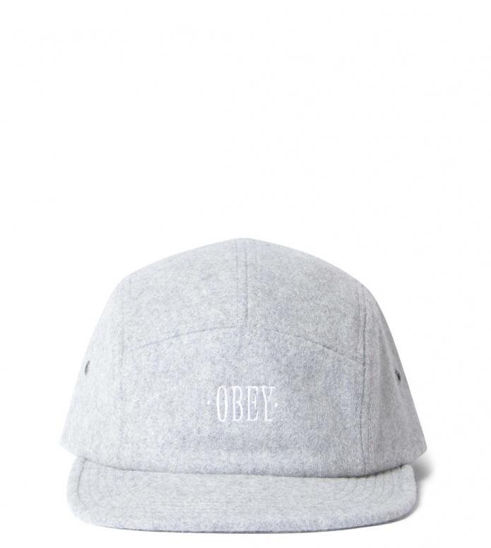 Obey Obey 5 Pannel Cap Subtle grey heather