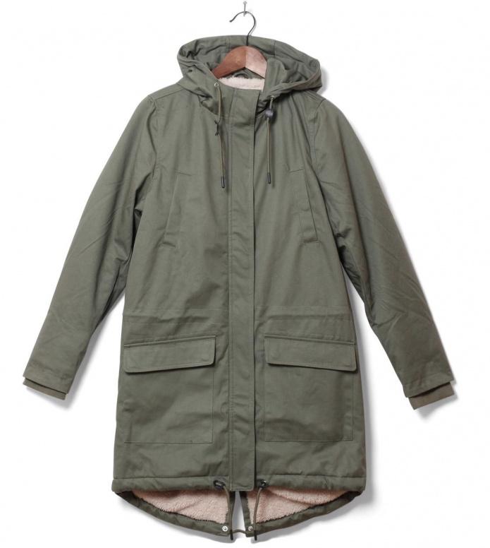 Wemoto W Winterjacket Ariel green olive L