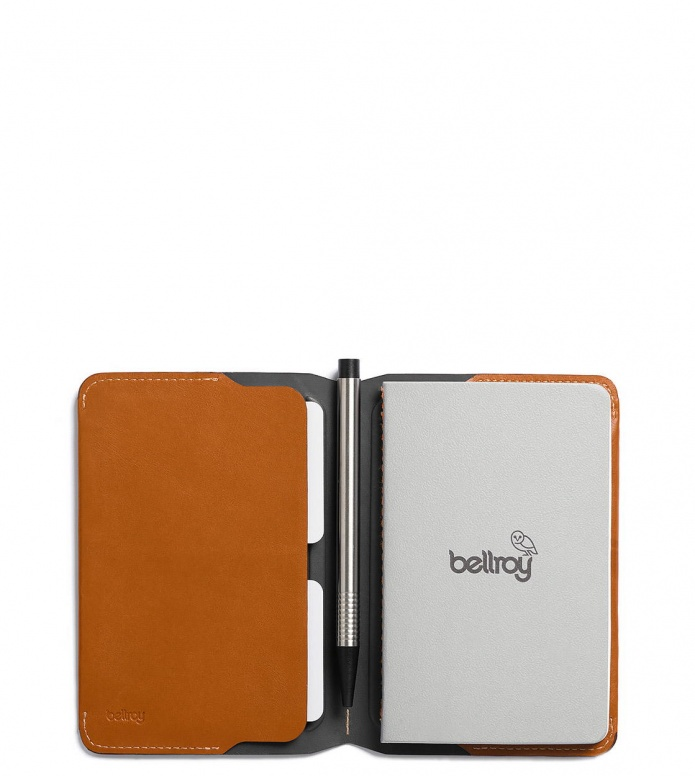 Bellroy Bellroy Notebook Cover Mini brown caramel