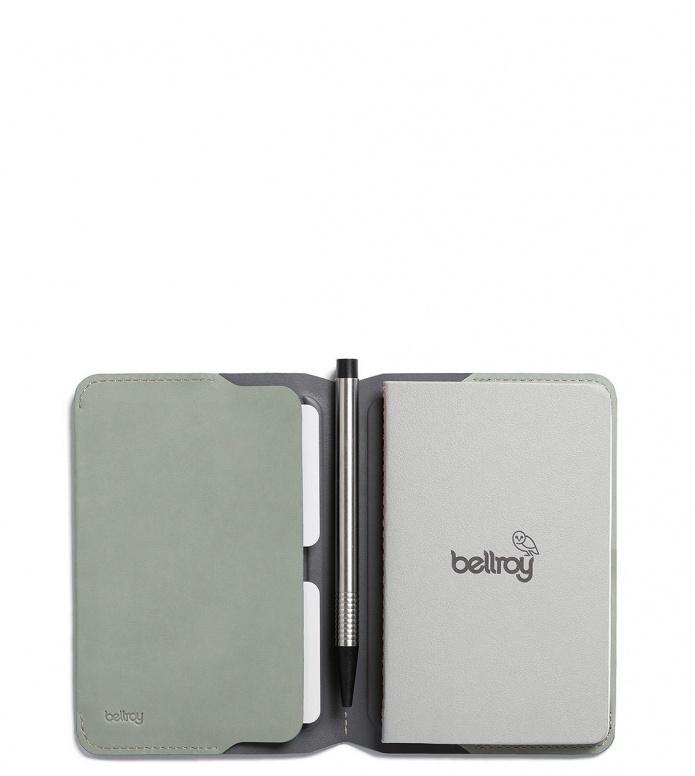 Bellroy Bellroy Notebook Cover Mini green eucalyptus