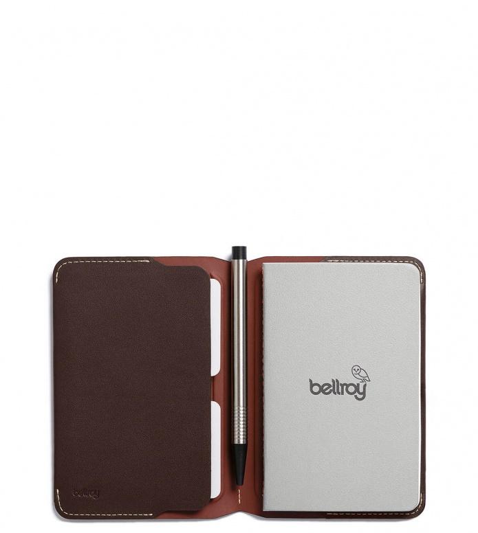Bellroy Bellroy Notebook Cover Mini brown java