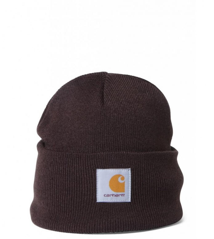 Carhartt WIP Beanie Short Watch brown tobacco one size