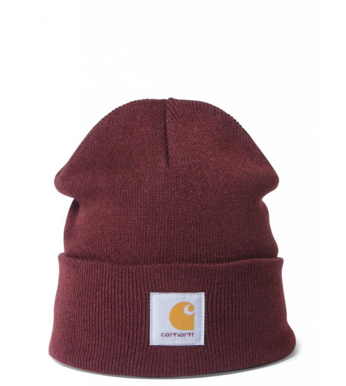 Carhartt WIP Beanie Short Watch red amarone one size