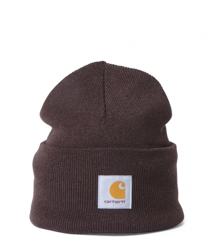 Carhartt WIP Beanie Acrylic Watch Hat brown tobacco