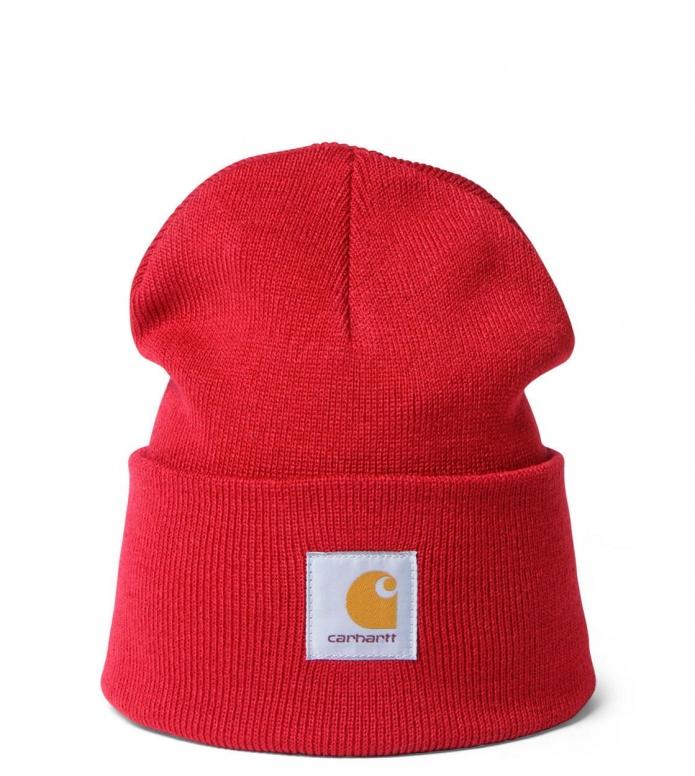 Carhartt WIP Beanie Acrylic Watch Hat red blast