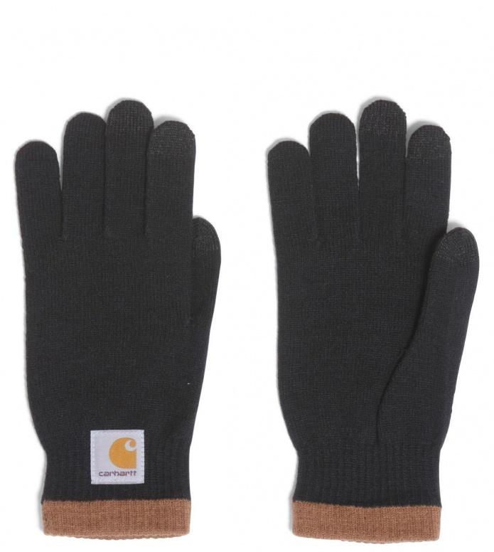 Carhartt WIP Gloves Tactile black/hamilton brown L