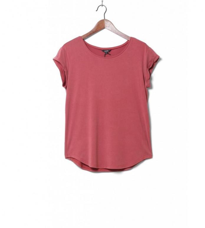 MbyM W T-Shirt Nisha Rai red rosewood melange L