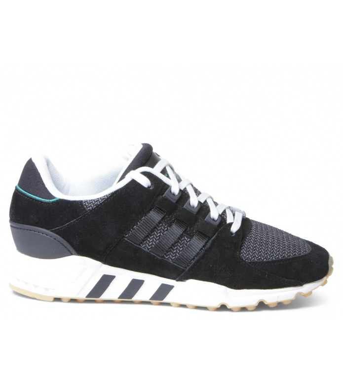adidas Originals Adidas W Shoes EQT Support RF black core/core black/sub green