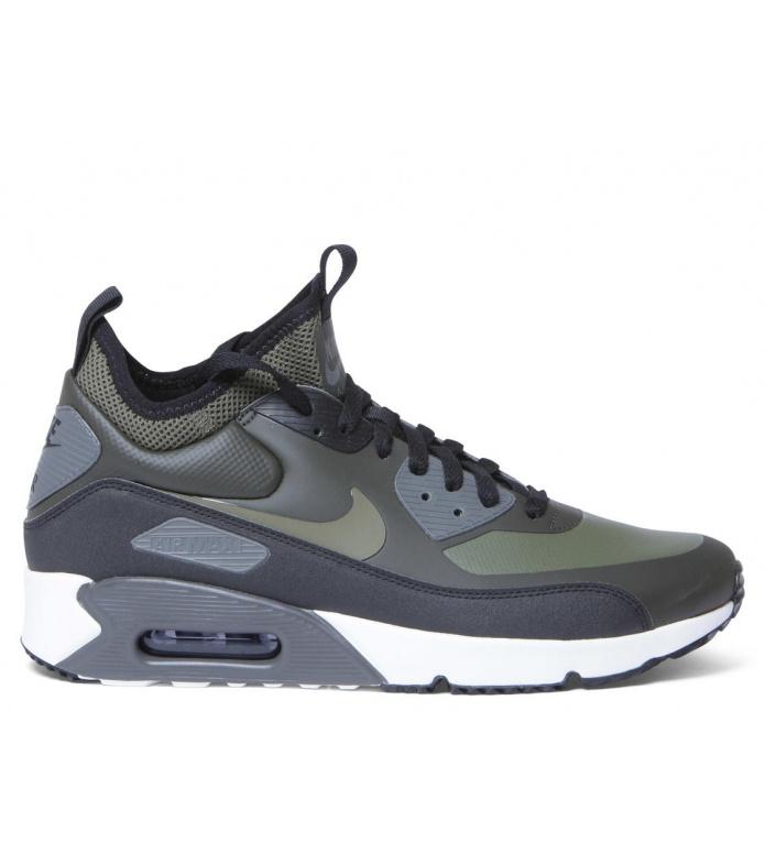 Nike Nike Shoes Air Max 90 Mid WNTR green sequoia/medium olive-black