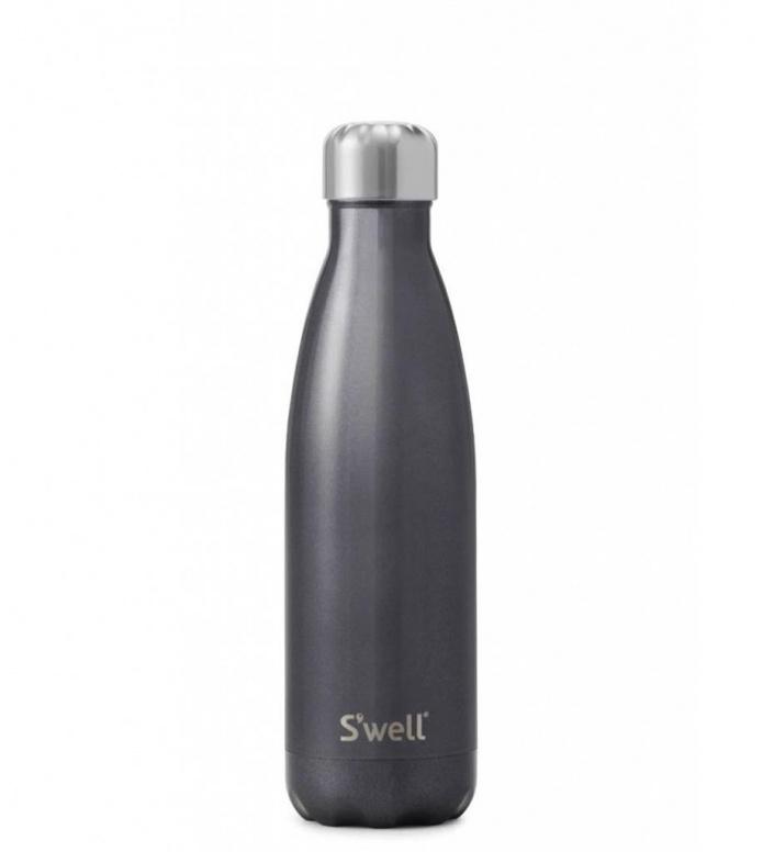 Swell Swell Water Bottle MD grey glitter smokey eye