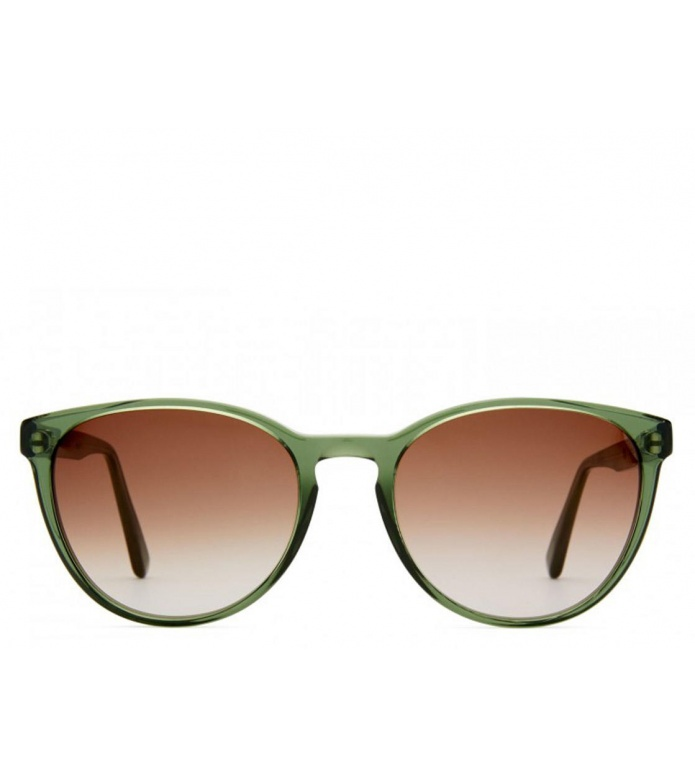 Viu Viu Sunglasses Cat pine green shiny