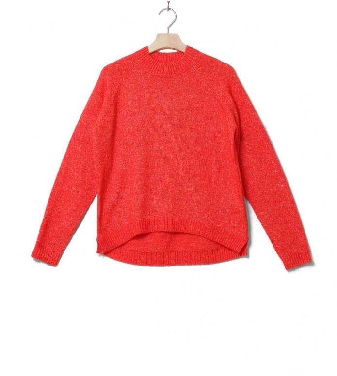 MbyM W Knit Pullover Ilse Forever red cherry tomato melange