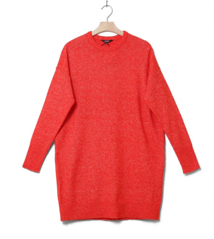 MbyM W Knit Pullover Athens Forever red cherry tomato melange