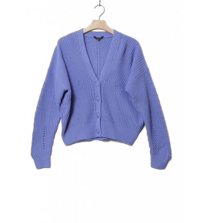 MbyM W Knit Pullover Art Capital blue vista