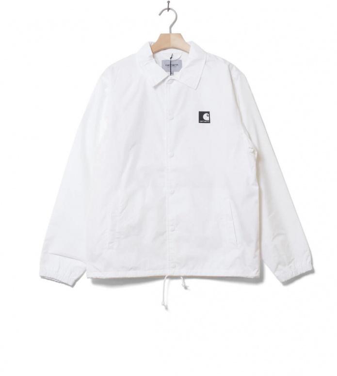 Carhartt WIP Jacket Sports Coach white/black L