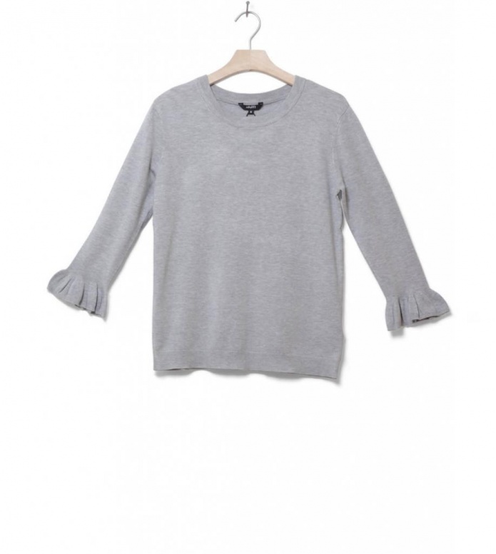 MbyM W Knit Pullover Shea Freeman grey light melange L