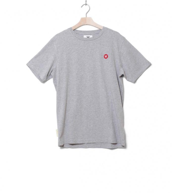 Wood Wood T-Shirt Ace grey melange S