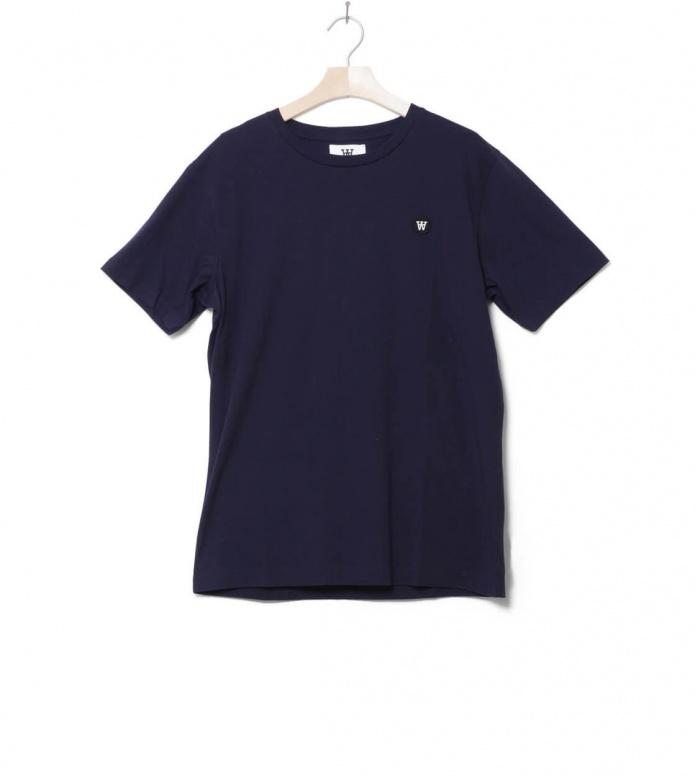 Wood Wood T-Shirt Ace blue navy S
