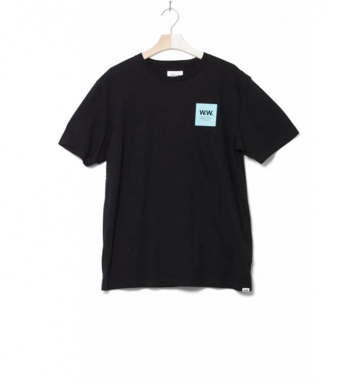 Wood Wood T-Shirt Box black