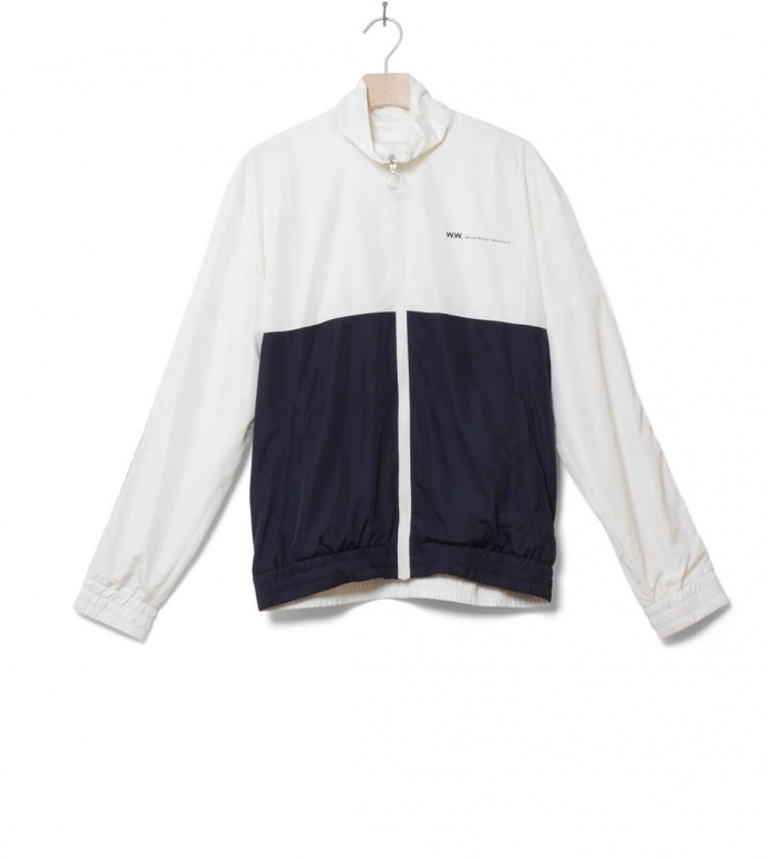 Wood Wood Jacket Homer blue off-white/navy M