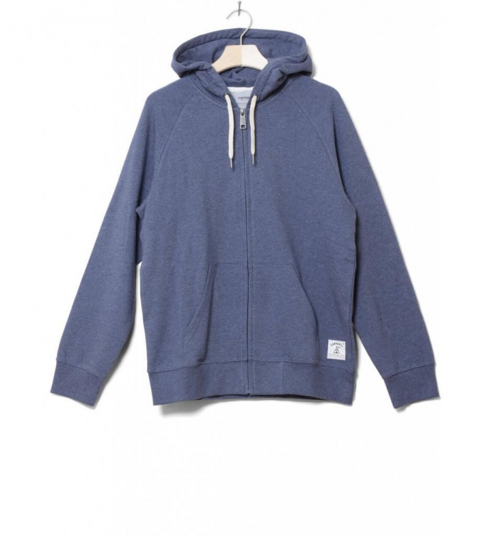 Carhartt WIP Zip Hooded Holbrook blue stone