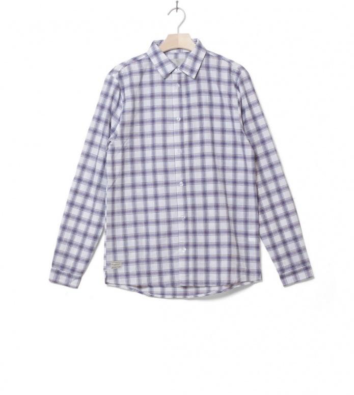 Revolution Shirt Check 3612 white S