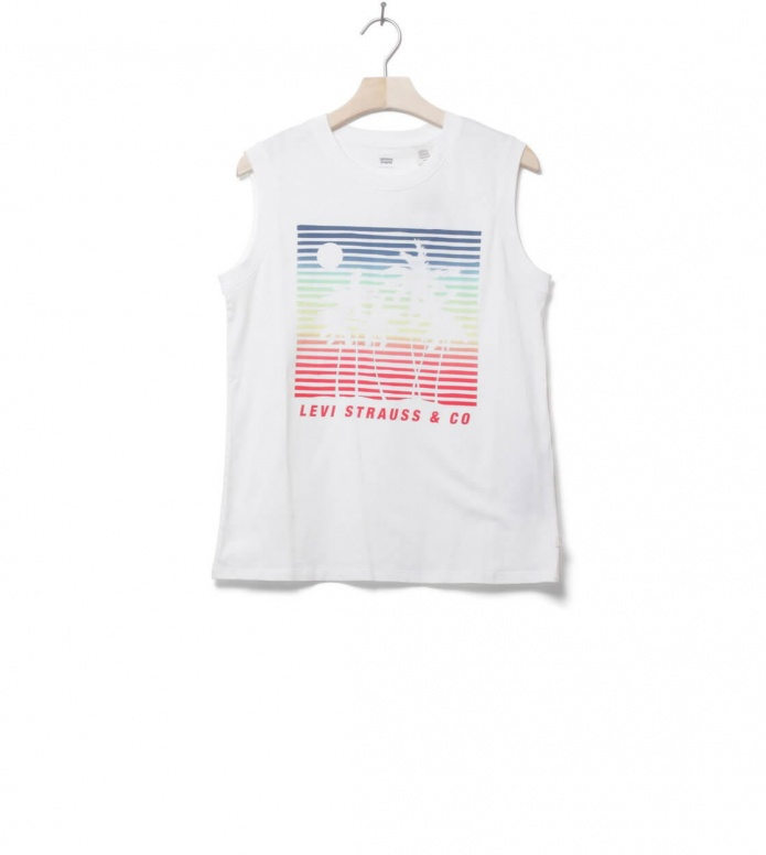Levis W Top On Tour white scenic cloud M