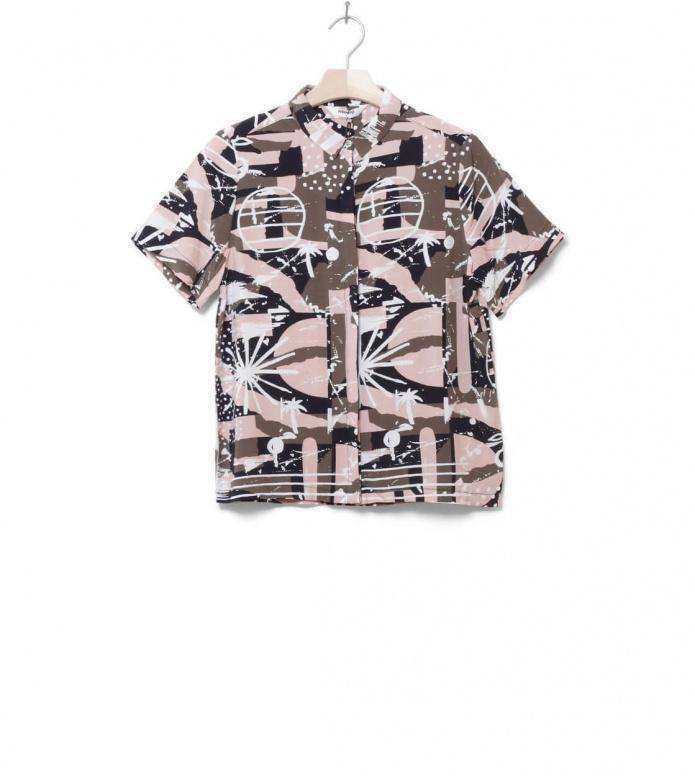 Wemoto W Shirt Jack Printed pink ways S