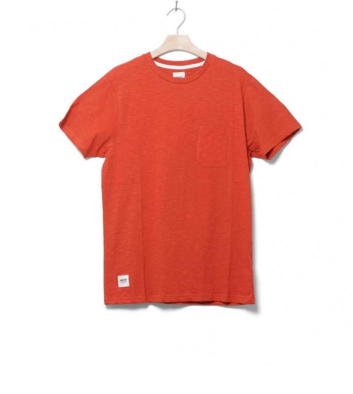 Wemoto T-Shirt Sidney orange burnt henna