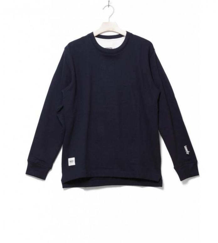 Wemoto Sweater Lawrence blue navy