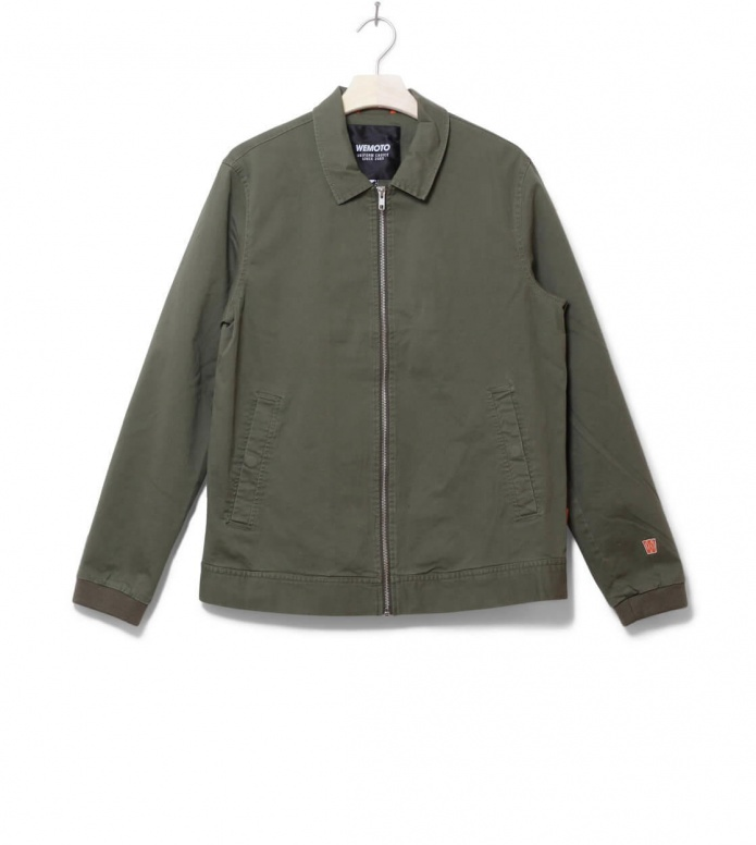 Wemoto Jacket Verdes green olive S