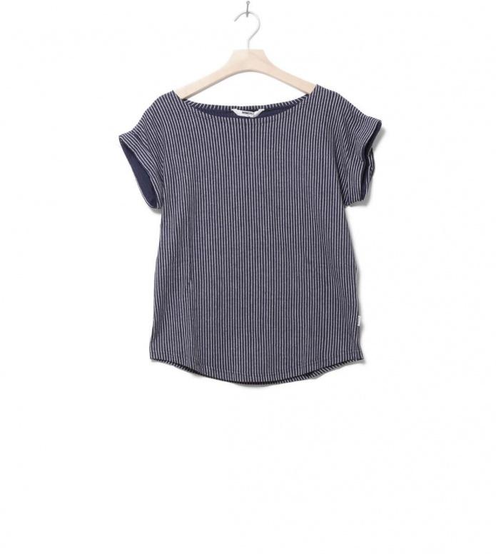 Wemoto W T-Shirt Holly blue navy