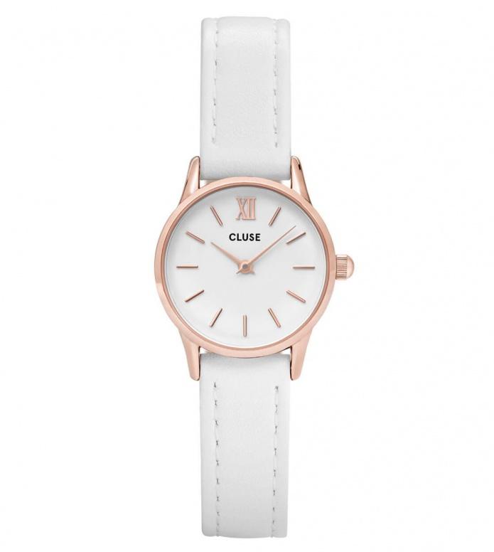 Cluse Cluse Watch La Vedette white/white rose gold