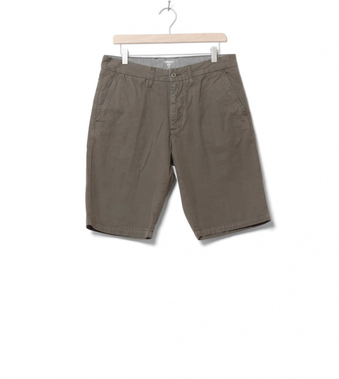 Carhartt WIP Shorts Johnson Midvale green moor 30