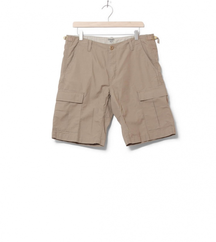Carhartt WIP Shorts Aviation Columbia Ripstop beige leather rinsed 31