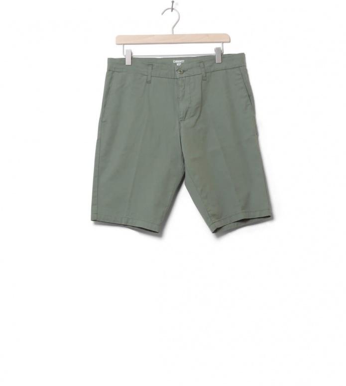 Carhartt WIP Shorts Sid Trabuco green dollar 30