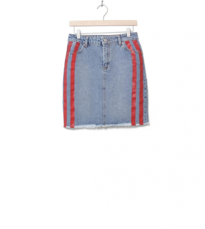 MbyM W Skirt Magnetic blue medium paint denim S