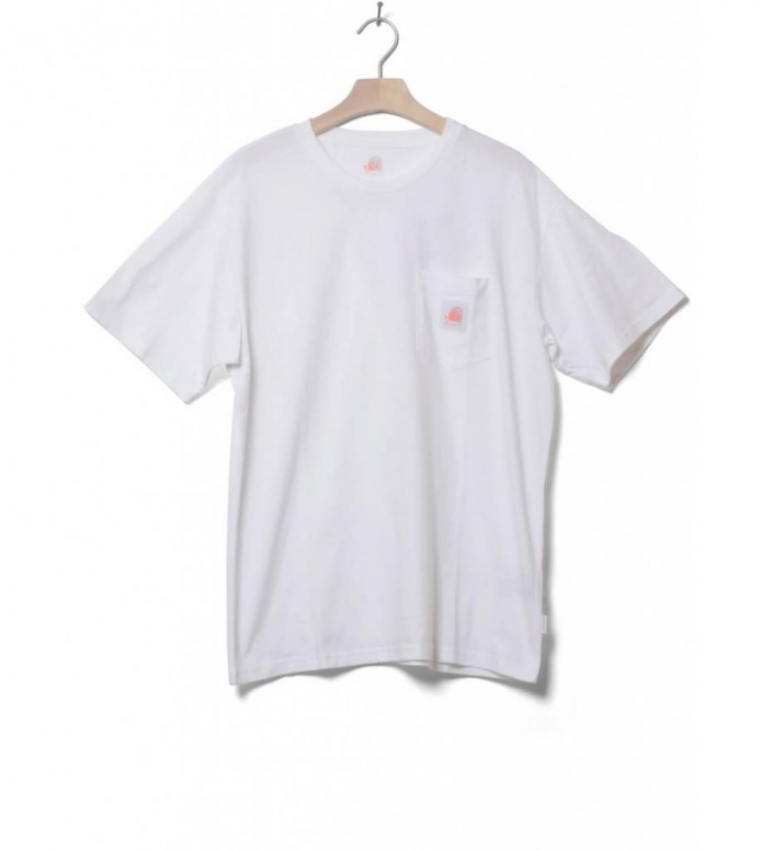 Carhartt WIP X Neu! T-Shirt Pocket white L