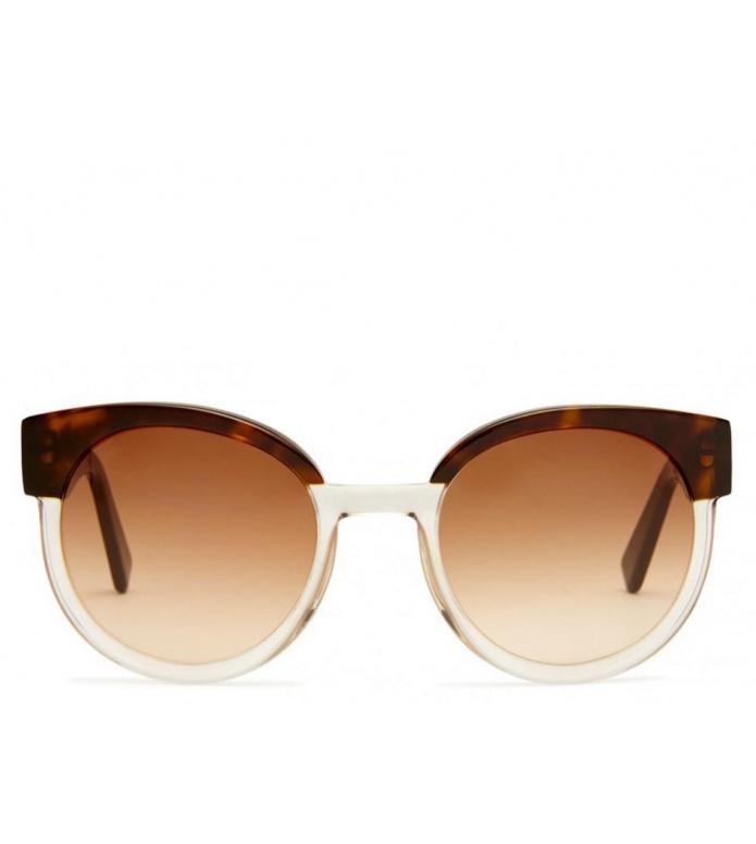 Viu Viu x House of Dagmar Sunglasses Greta dark havana ice shiny