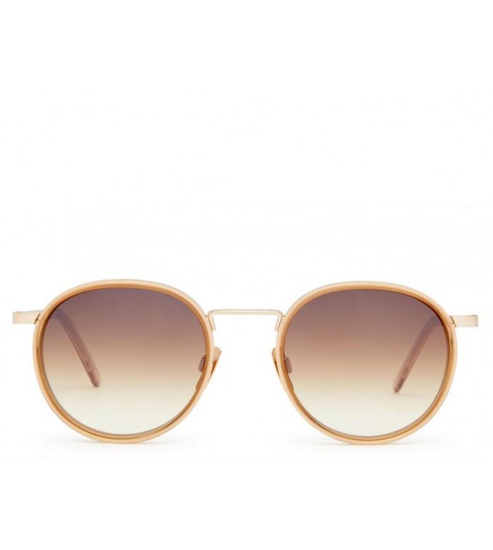 Viu Viu Sunglasses Voyager Ti/Ac star gold/sepia