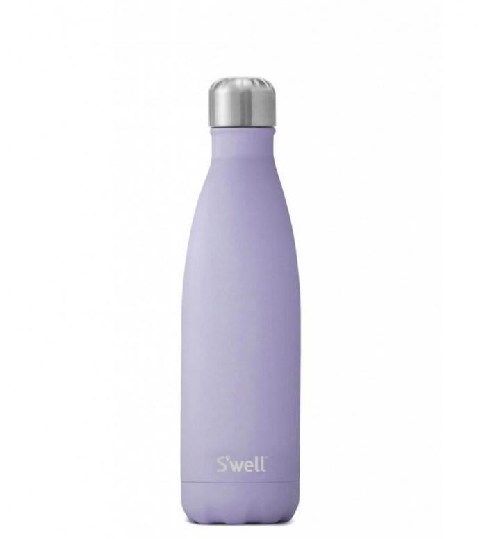 Swell Swell Water Bottle MD purple stone garnet