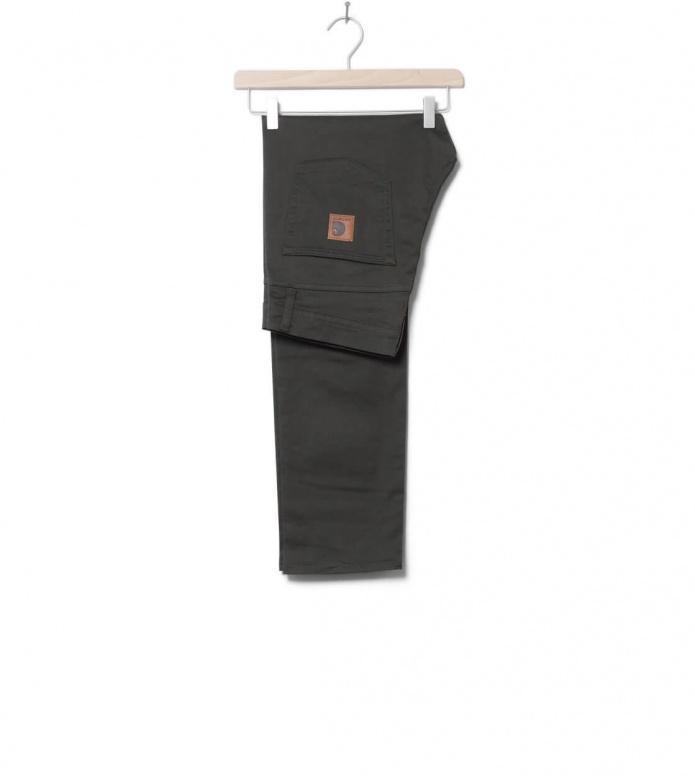 Carhartt WIP Pants Klondike Douglas green cypress rinsed 30/32
