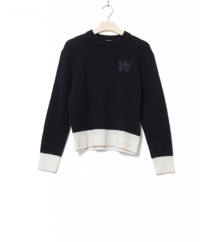 Wood Wood W Knit Pullover Anneli blue navy XS
