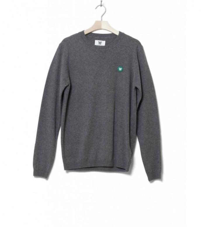 Wood Wood Sweater Sid grey melange S