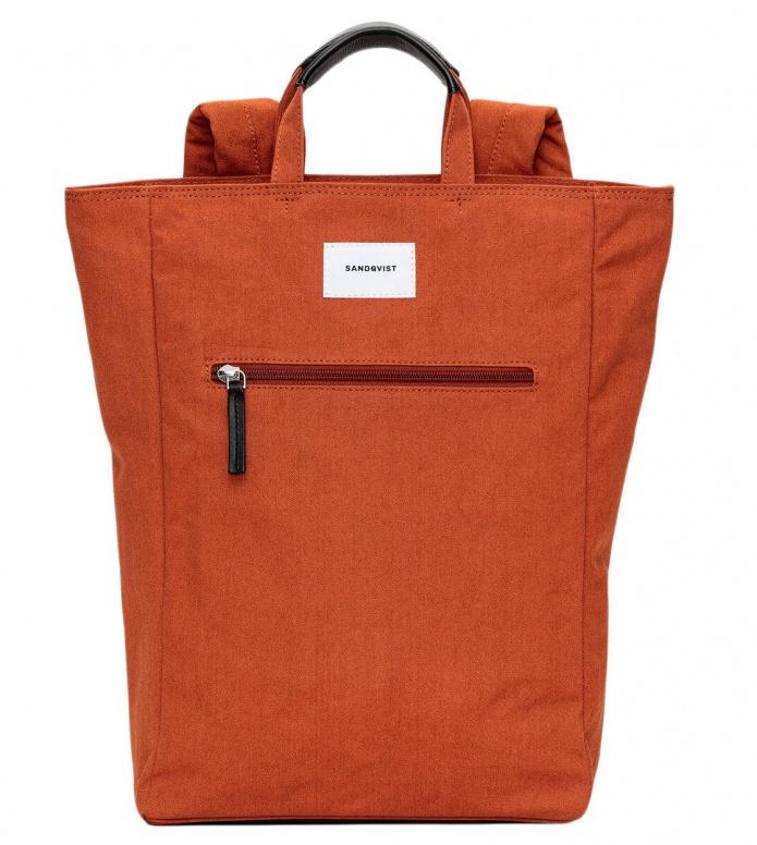 Sandqvist Backpack Tony orange rust