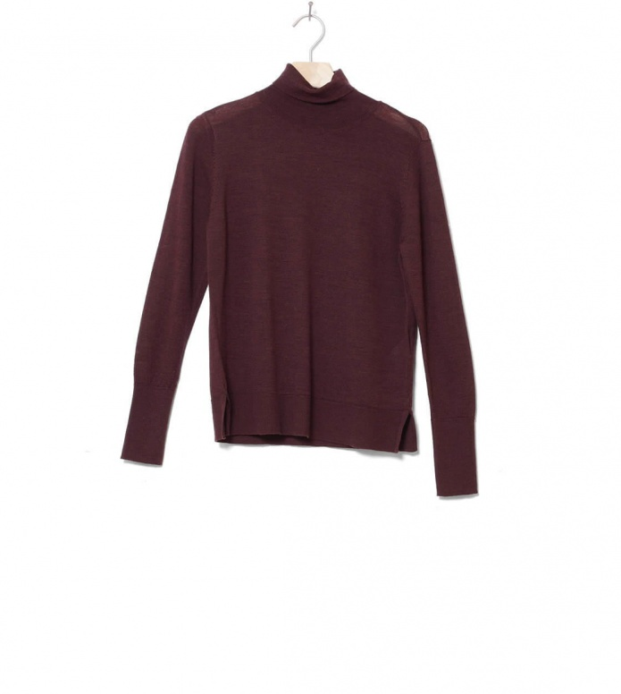 Selected Femme Knit Slfmeroni brown decadent chocolate XS
