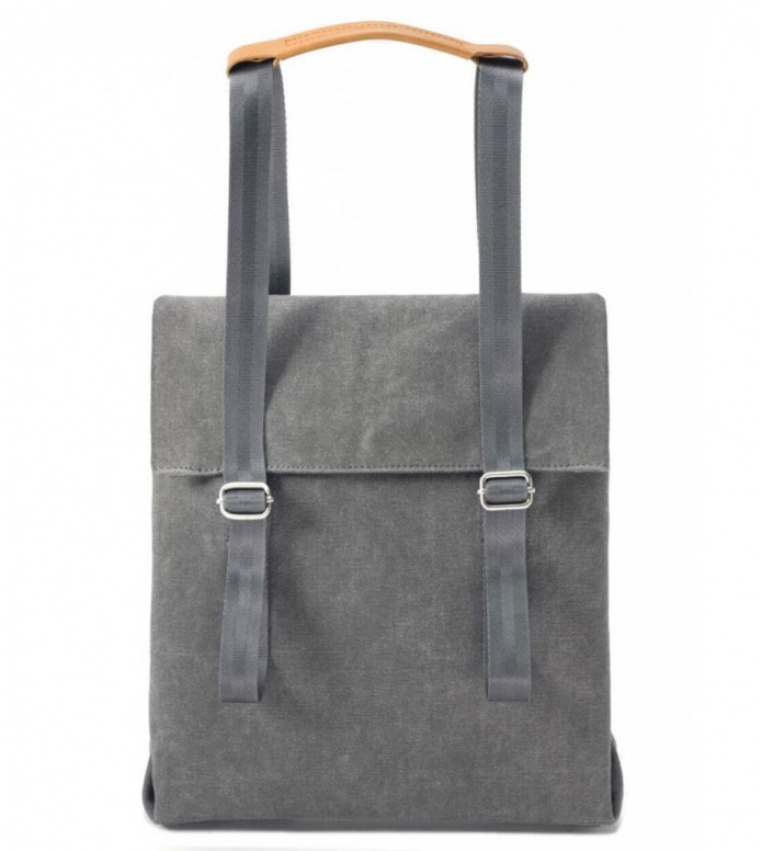 Qwstion Qwstion Bag Small Tote washed grey